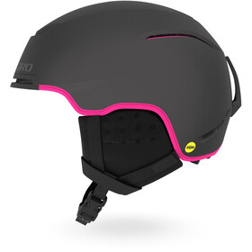 Giro Terra MIPS Casco Mujer, matte graphite/bright pink